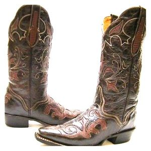 J.B. Dillon 💯 Leather Country Boots Lizard Skin